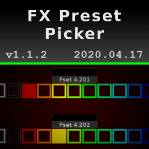 FX Preset Picker