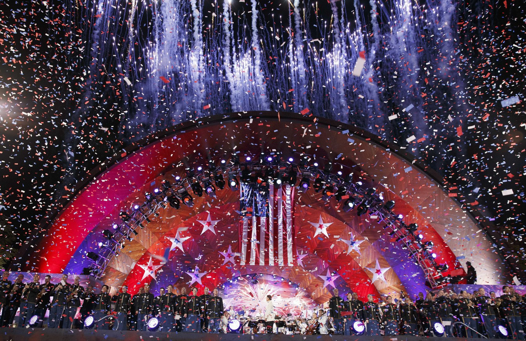 Boston Pops 4th of July - Confetti Drop