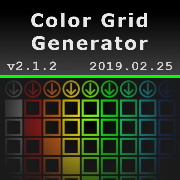 Color Grid Generator