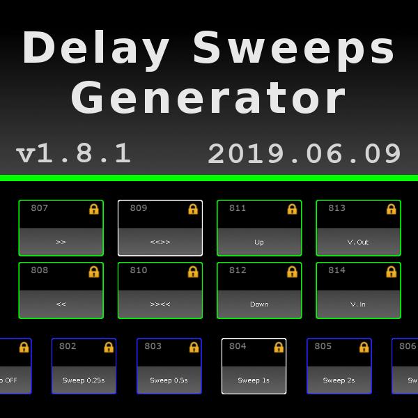Delay Sweeps - Macro Generator