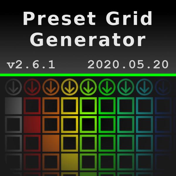Preset Grid Generator