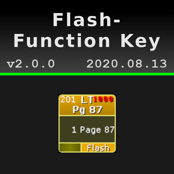 Flash Function Key