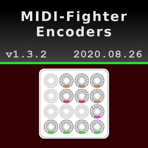 OnPC MIDI Encoders