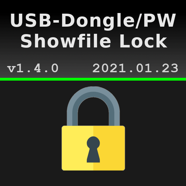 Showfile Dongle/Password Lock